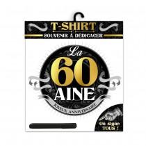 TEE SHIRT ANNIVERSAIRE HOMME - 60AINE
