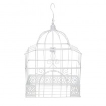 urne cage pour déco mariage 24 cm