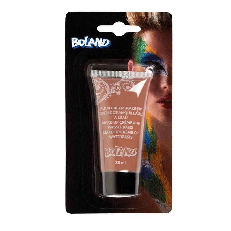 Tube maquillage à l'eau marron