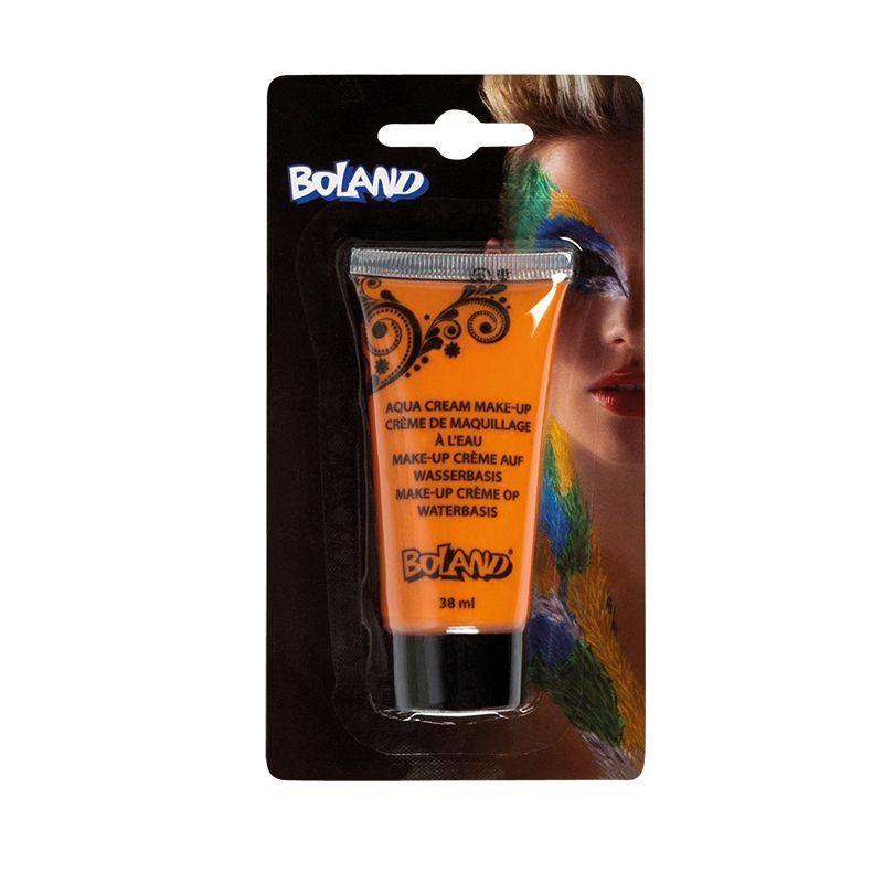 Tube de maquillage à l'eau orange