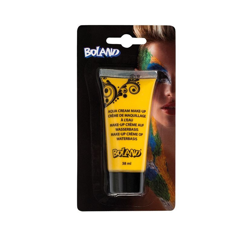 TUBE DE MAQUILLAGE À L\'EAU JAUNE 38 ML