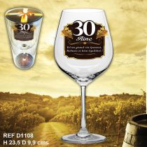 VERRE A VIN 30AINE