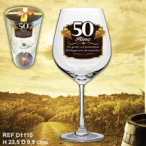 VERRE A VIN 50AINE