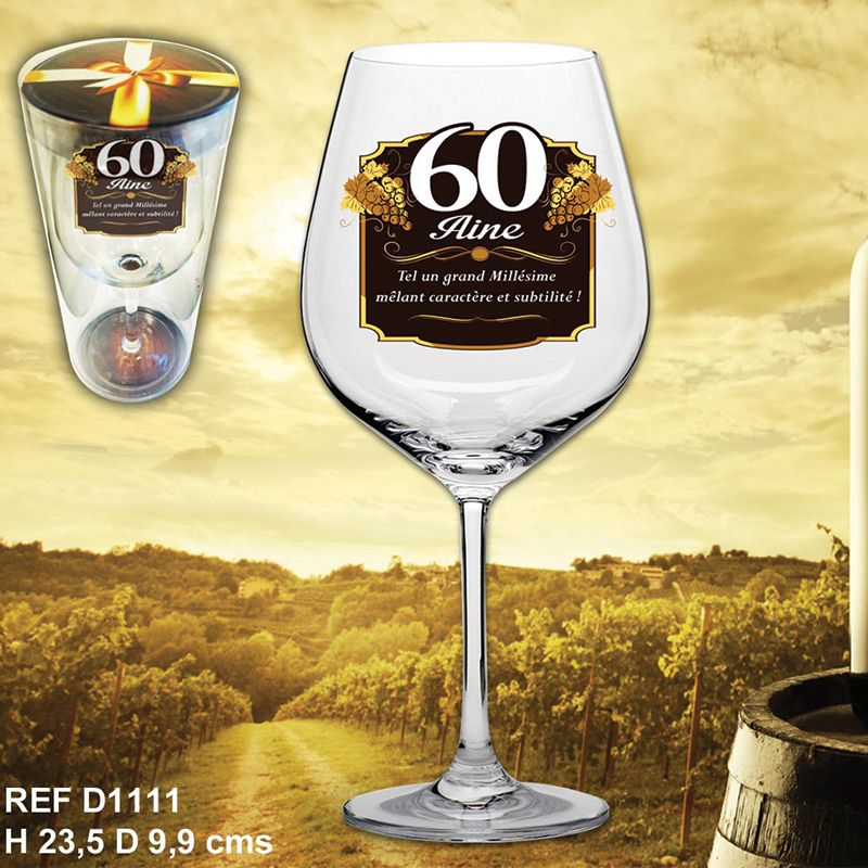 VERRE A VIN 60AINE