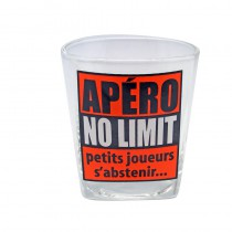 VERRE APÉRO NO LIMIT