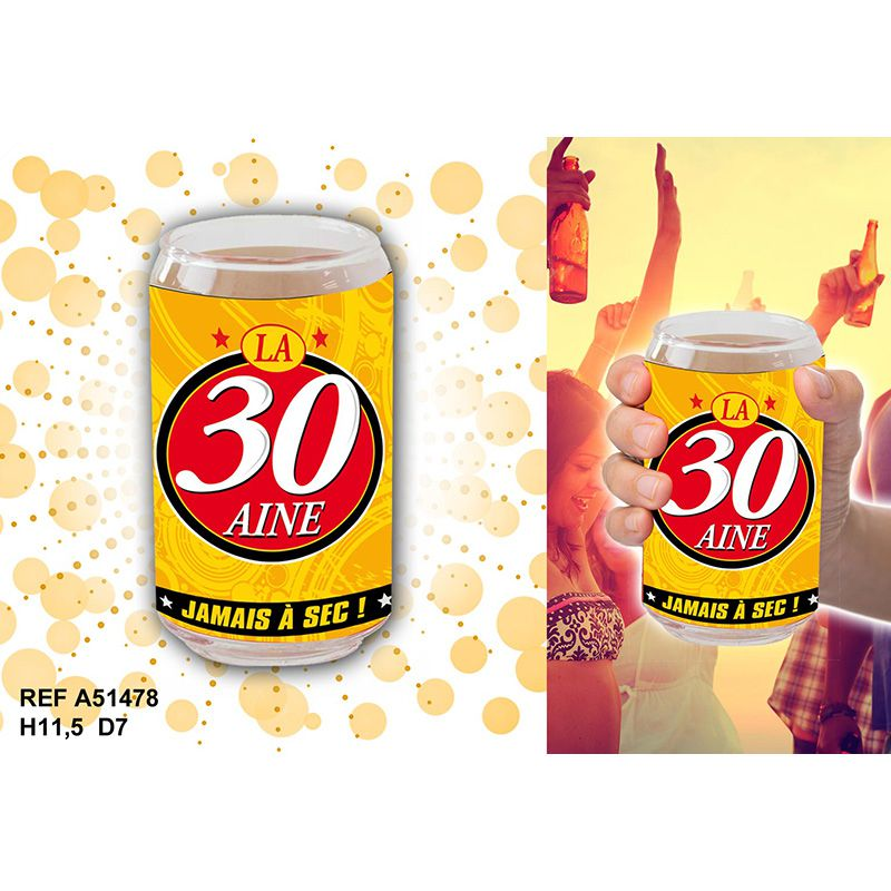 VERRE CANETTE 30 AINE