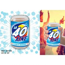 VERRE CANETTE 40 AINE