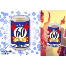 VERRE CANETTE 60 AINE