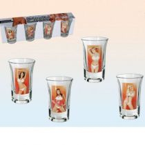 VERRE SHOOTER STRIPTISEUSE