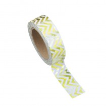 WASHI TAPE CHEVRONS OR 15MMX10M