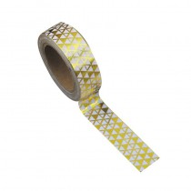 WASHI TAPE GOLD TIKKI 15MMX10M