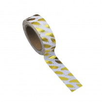 WASHI TAPE PLUMES OR 15MMX10M