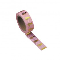 WASHI TAPE ROSE VINT. ANANAS OR 15MMX10M